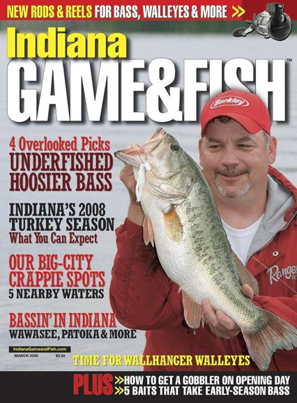 Indiana Game & Fish Cover - 3/1/2008
