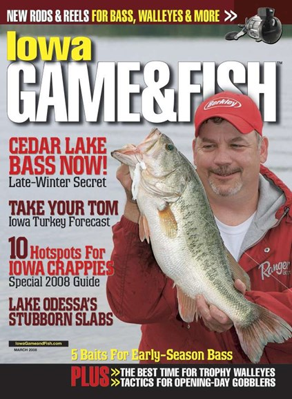 Iowa Game & Fish Cover - 3/1/2008