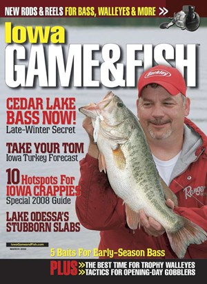 Iowa Game & Fish | 3/1/2008 Cover