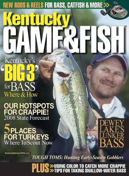 Kentucky Game & Fish Cover - 3/1/2008