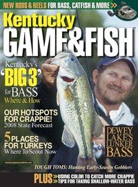 Kentucky Game & Fish | 3/1/2008 Cover