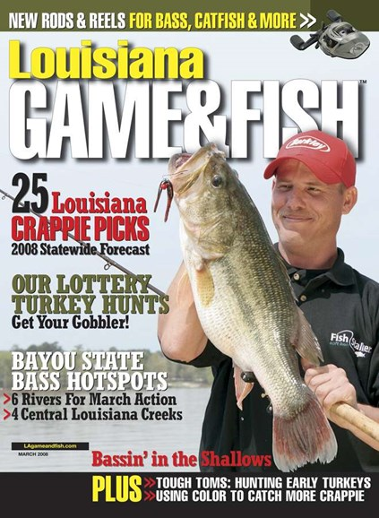 Louisiana Game & Fish Cover - 3/1/2008