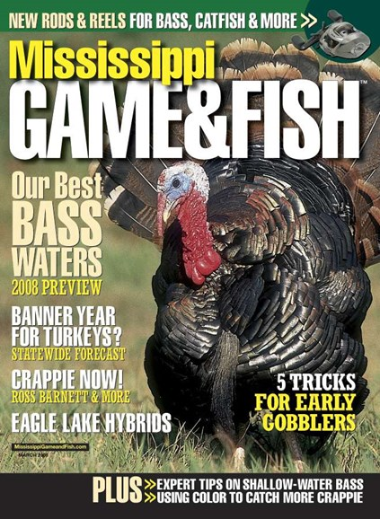 Mississippi Game & Fish Cover - 3/1/2008
