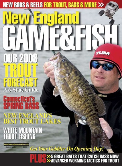 New England Game & Fish Cover - 3/1/2008