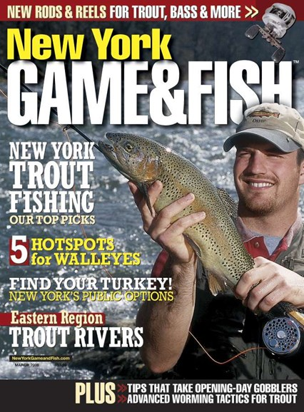New York Game & Fish Cover - 3/1/2008