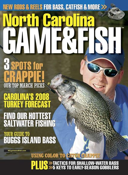 North Carolina Game & Fish Cover - 2/1/2008