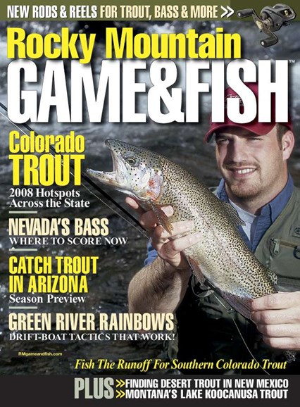 Rocky Mountain Game & Fish Cover - 3/1/2008