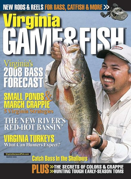 Virginia Game & Fish Cover - 3/1/2008