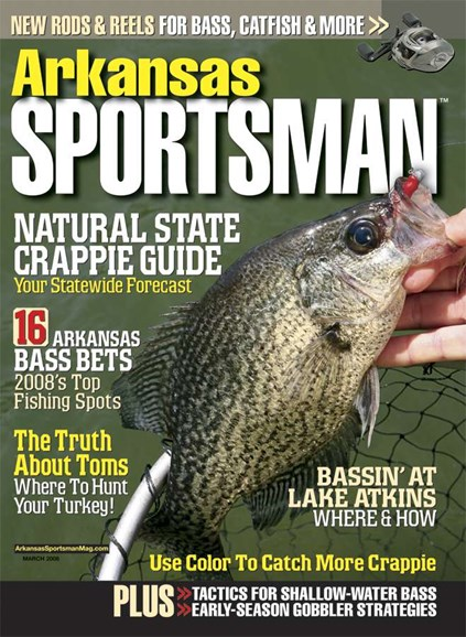 Arkansas Sportsman Cover - 3/1/2008