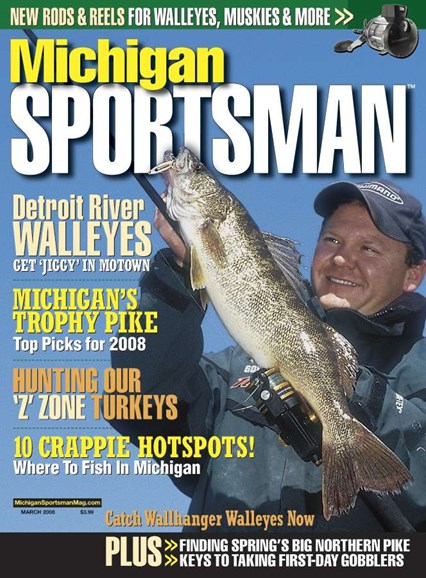 Michigan Sportsman Cover - 3/1/2008