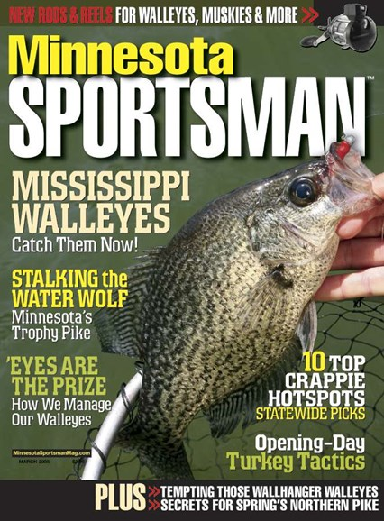 Minnesota Sportsman Cover - 3/1/2008