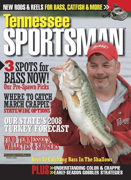 Tennessee Sportsman Cover - 3/1/2008