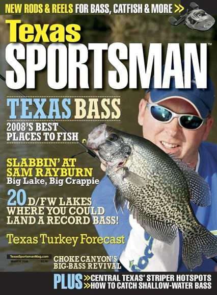 Texas Sportsman Cover - 3/1/2008