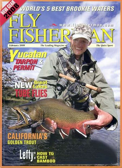 Fly Fisherman Cover - 2/1/2008