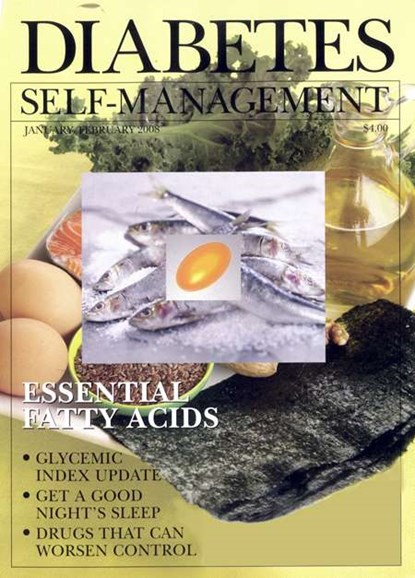 Diabetes Self-Management Cover - 1/1/2008
