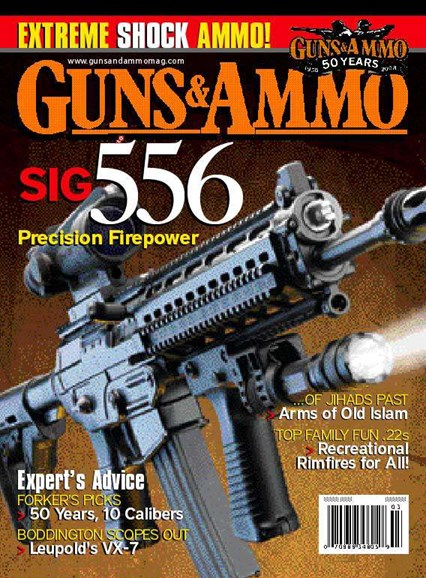Guns & Ammo Cover - 3/1/2008