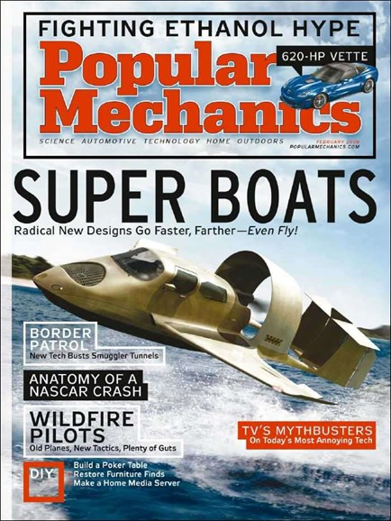 Popular Mechanics Cover - 2/1/2008