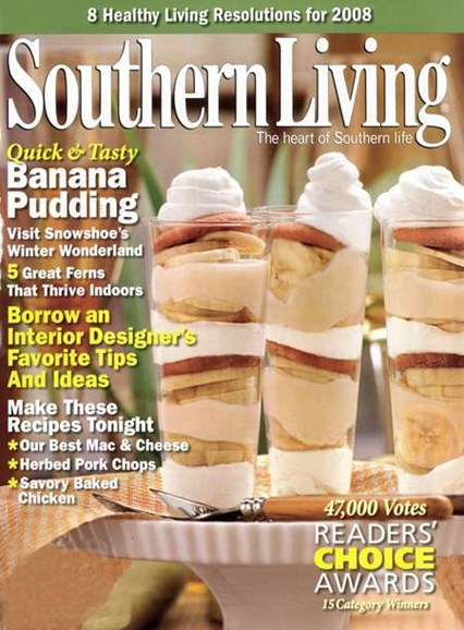 Southern Living Cover - 1/1/2008