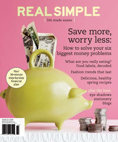 Real Simple Cover - 3/1/2008