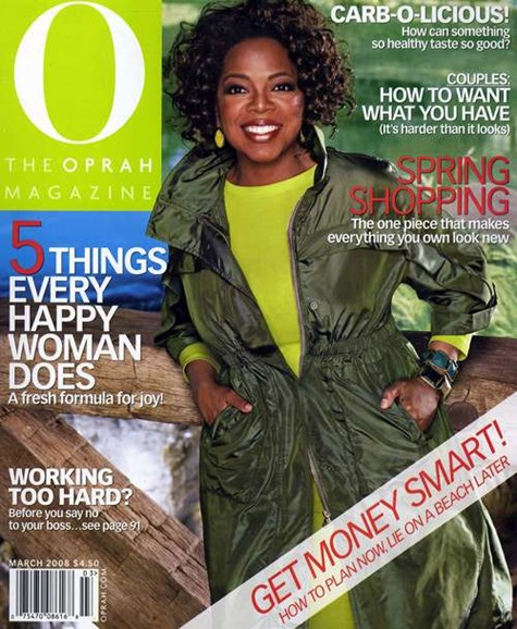 O The Oprah Cover - 3/1/2008