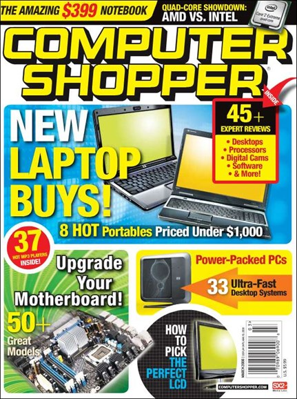 Computer Shopper Cover - 3/1/2008