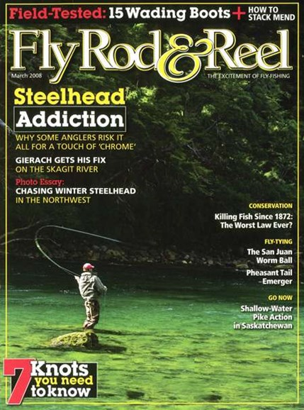 Fly Rod & Reel Magazine Cover - 3/1/2008