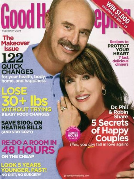 Good Housekeeping Cover - 2/1/2008