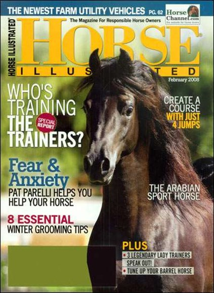 Horse Illustrated Cover - 2/1/2008
