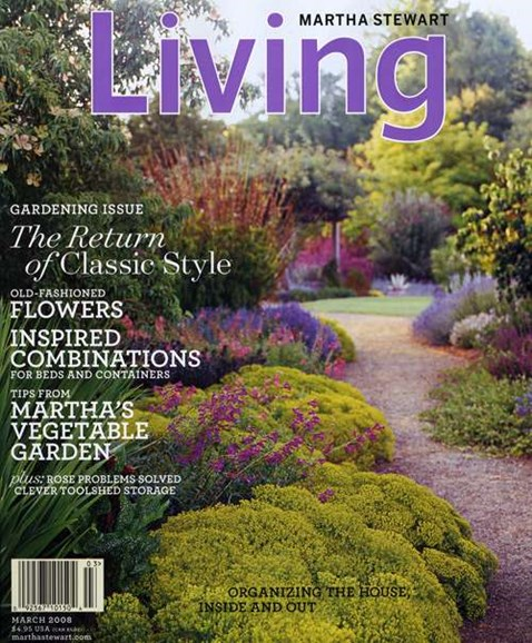 Martha Stewart Living Cover - 3/1/2008