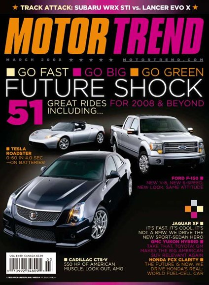 Motor Trend Cover - 3/1/2008
