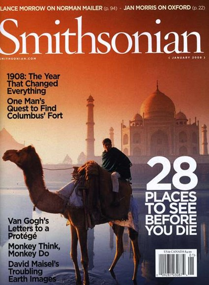 Smithsonian Cover - 1/1/2008