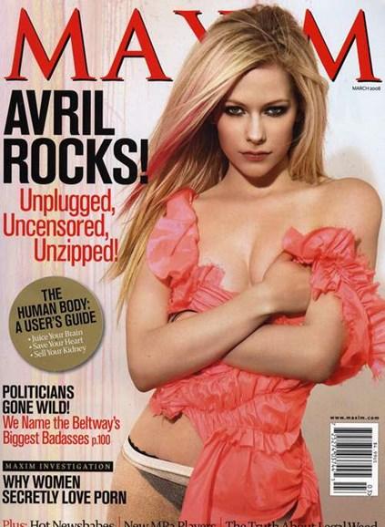 Maxim Cover - 3/1/2008