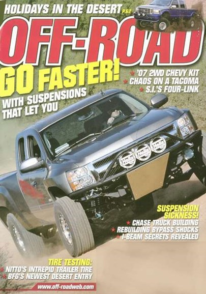 Dirt Sports & Off-Road Cover - 3/1/2008