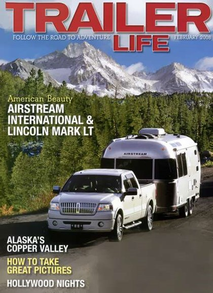 Trailer Life Cover - 2/1/2008