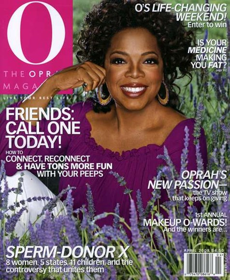 O The Oprah Cover - 4/1/2008
