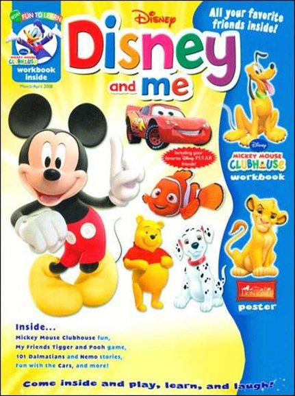 Disney Junior Cover - 3/1/2008