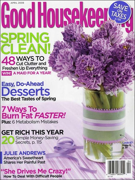 Good Housekeeping Cover - 4/1/2008
