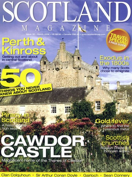 Scotland Magazine Cover - 3/1/2008