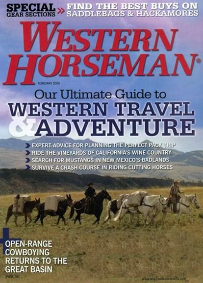 Western Horseman Cover - 2/1/2008