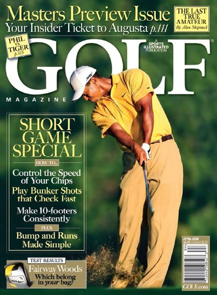 Golf Magazine Cover - 4/1/2008