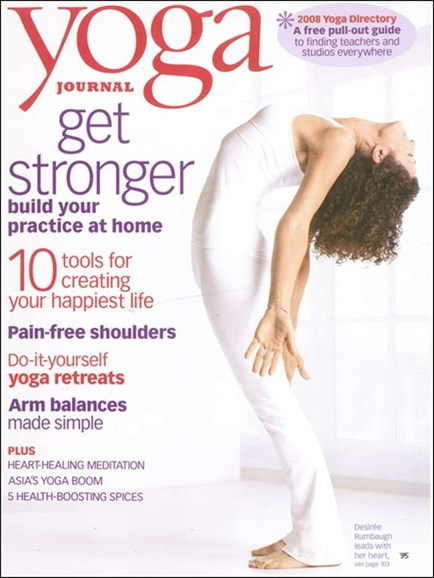 Yoga Journal Cover - 3/1/2008