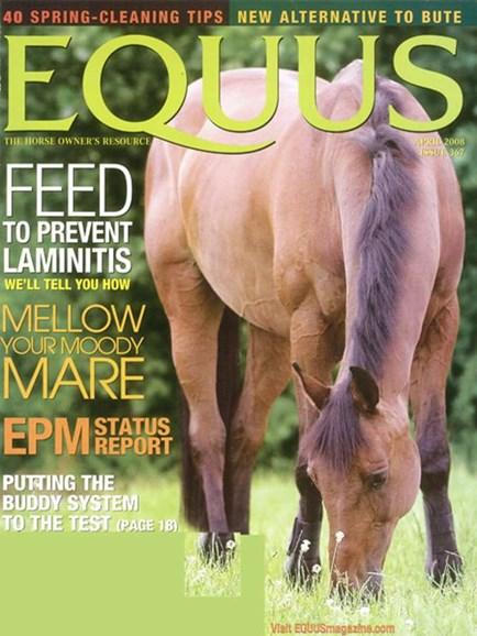Equus Cover - 4/1/2008