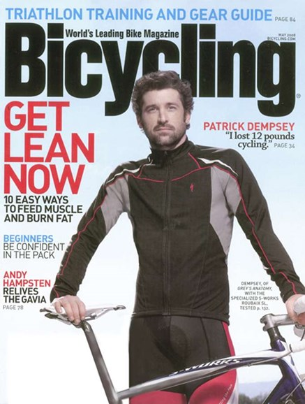 Bicycling Cover - 5/1/2008