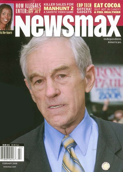 Newsmax Magazine Cover - 4/1/2008
