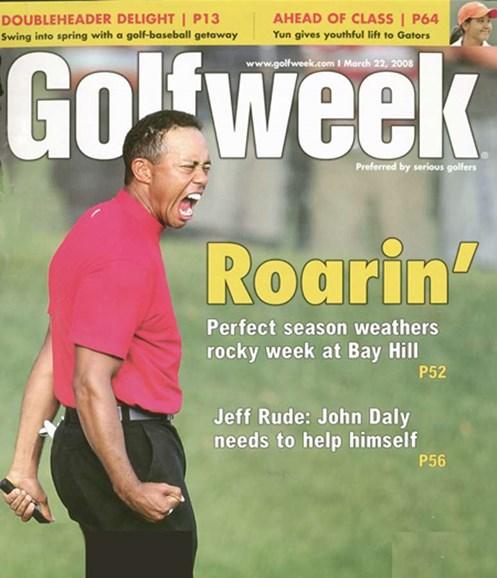 Golfweek Cover - 4/1/2008