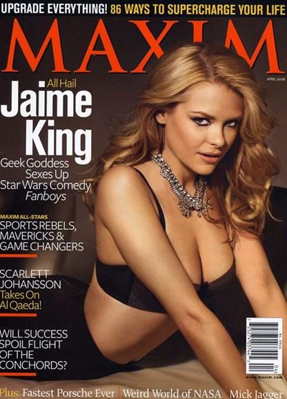 Maxim Cover - 4/1/2008
