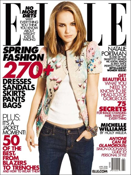 ELLE Cover - 4/1/2008