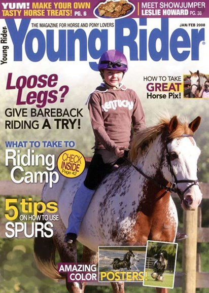 Young Rider Cover - 2/1/2008