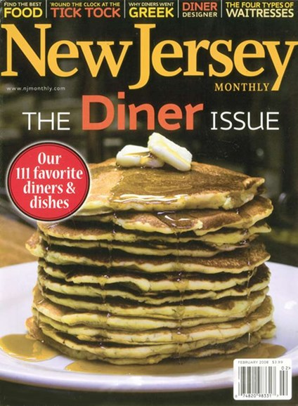 New Jersey Monthly Cover - 3/1/2008