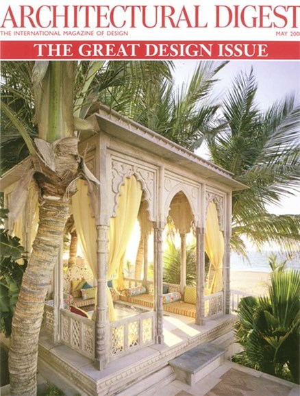 Architectural Digest Cover - 5/1/2008